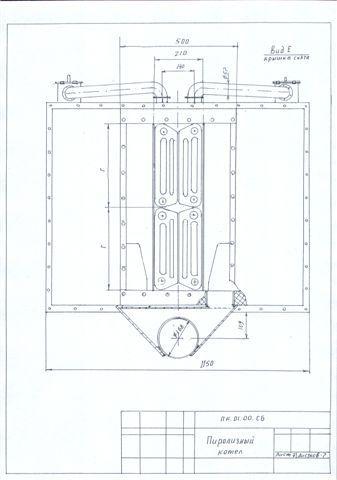 Пиролизные (газогенераторные)